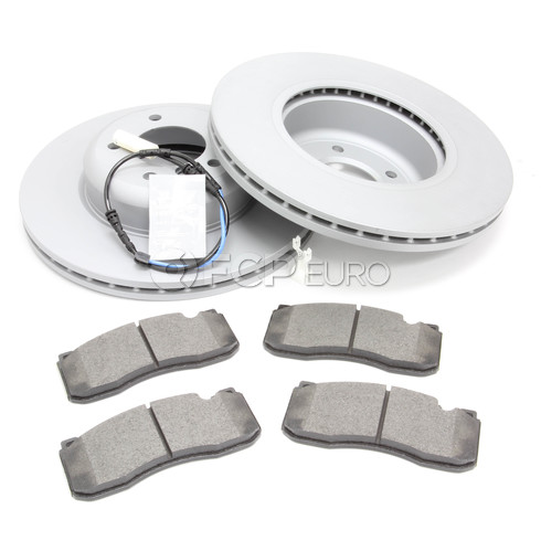 BMW Brake Kit Front (E82 E88) - Zimmermann/Textar 34116778647KTF3