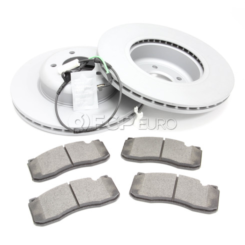 BMW Brake Kit - Zimmermann/Textar 34116778647KTF2
