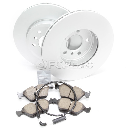 BMW Brake Kit - Meyle/Akebono 34113400151KTF3