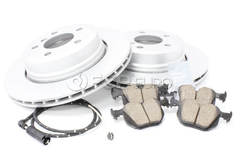 BMW Brake Kit Rear (E83) - Meyle/Akebono 34213332217KTR2