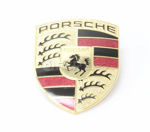 Porsche Emblem (Boxster 911 Cayman) - OEM Supplier 99655921101