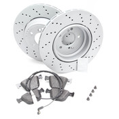 BMW Brake Kit - Zimmermann/Textar 34212283803KT2