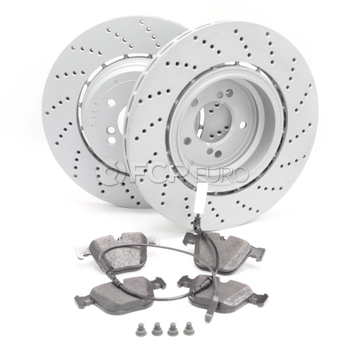 BMW Brake Kit - Zimmermann/Textar 34212282807KT2