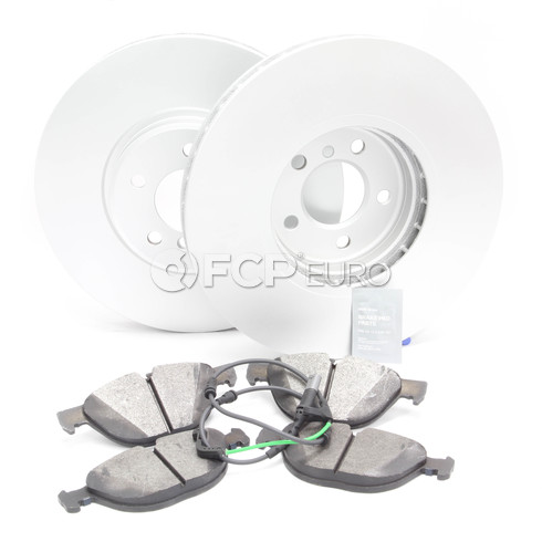 BMW Brake Kit Front (E71) - Meyle/Akebono 34116793243KTF