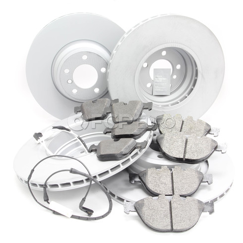 BMW Brake Kit - Zimmermann/Textar 34116766107KTFR1
