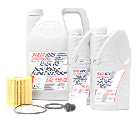 Volvo Oil Change Kit 5W-30 (S60 V70 S80 XC90) - Pentosin KIT-P25W30SERVICE1V3