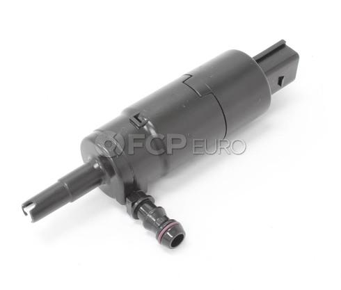 BMW Audi VW Headlight Washer Pump (318i 525i 745Li X3) - VDO 67128377430