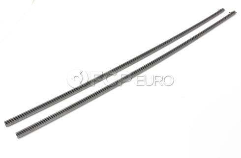 BMW Windshield Wiper Blade Refill Set - OEM 61610154441