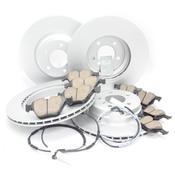 BMW Brake Kit - Meyle/Akebono 34116855000KTFR10