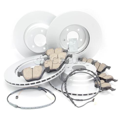 BMW Brake Kit - Meyle/Akebono 34116855000KTFR12