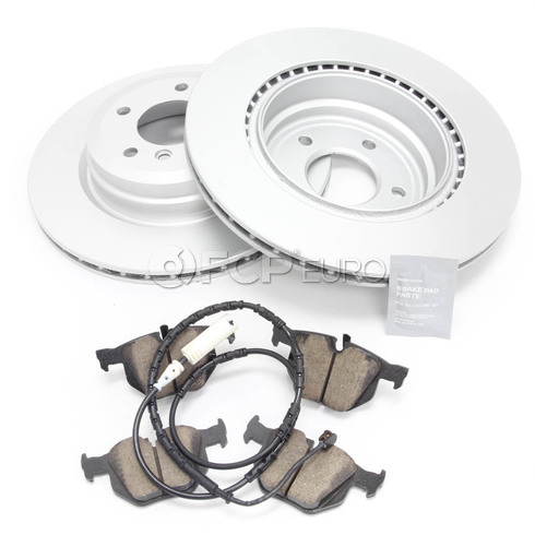BMW Brake Kit Rear (E90 E92 E93) - Meyle/Akebono 34216855004KT5
