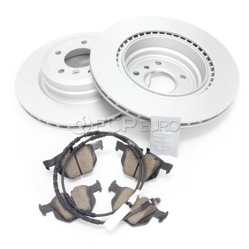 BMW Brake Kit Rear (E90 E92 E93) - Meyle/Akebono 34216855004KT2
