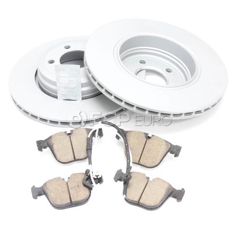 BMW Brake Kit - Zimmermann/Akebono 34211166129KTR2