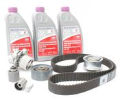 Audi VW Timing Belt Kit with Water Pump TDI - Contitech/INA CEBATBKIT1