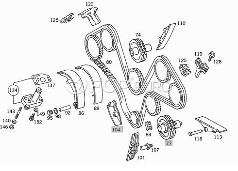 Mercedes Engine Timing Chain Kit - Febi 30313