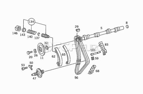Mercedes Engine Timing Chain Kit (190E 2.3) - Febi 30306
