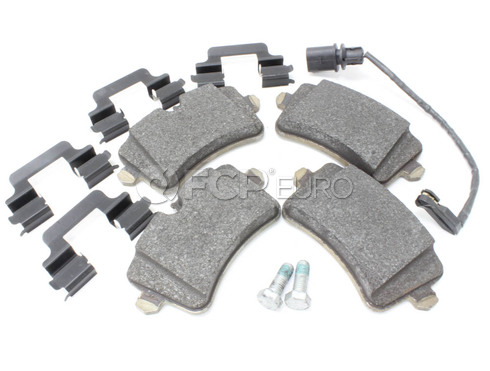 Audi VW Brake Pad Set - Genuine Audi VW 4G0698451A