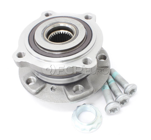 BMW Axle Bearing and Hub Assembly Front (X5 X6) - Meyle 31206795959