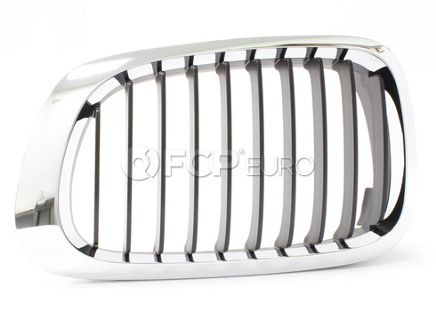BMW Kidney Grille Left (E46) - Genuine BMW 51138208683