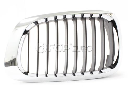 BMW Kidney Grille Left (E46) - Genuine BMW 51138208683