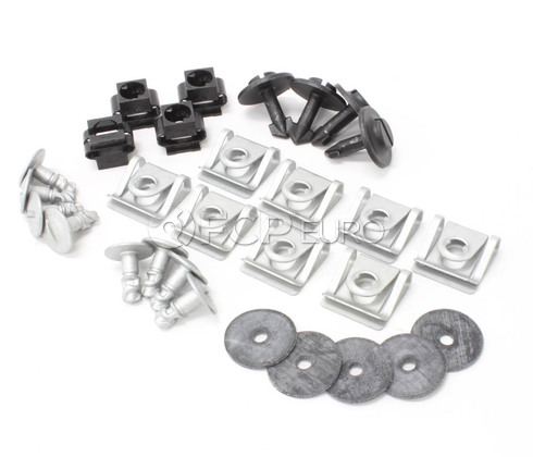Audi Engine Splash Guard Hardware Kit (100 A6 A8 Allroad)
