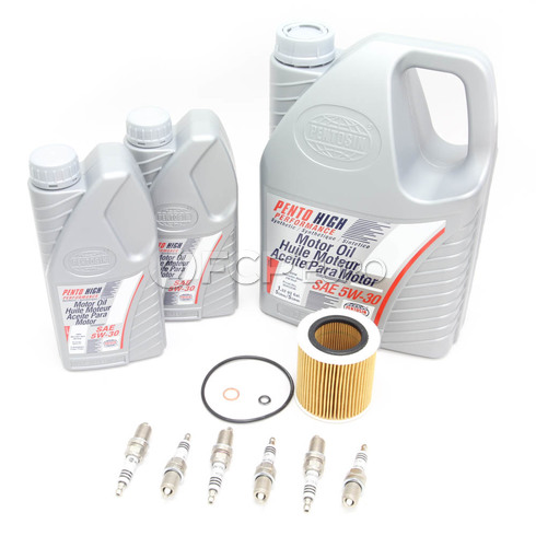 BMW Tune Up Kit With Oil - E60535TUNEKIT