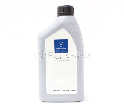 Mercedes Power Steering Fluid - Genuine Mercedes Q1460001