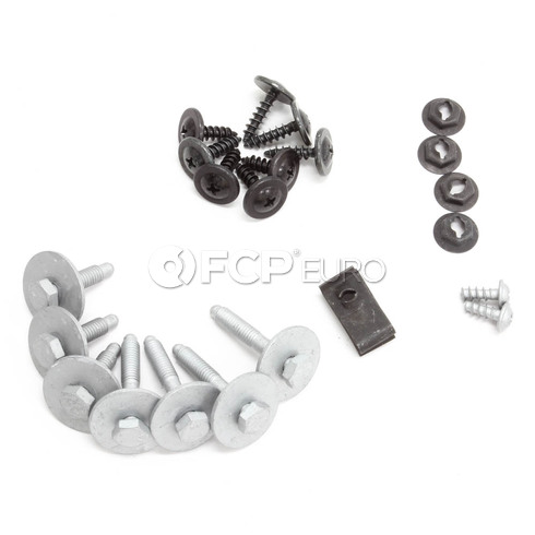 Mini Cooper Set Mounting Parts Spoiler Front (Value Line) - Genuine Mini 51112311958
