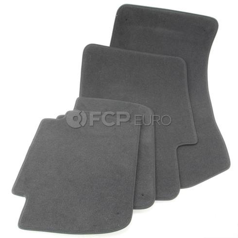 BMW Anthracite Floor Mat Set (E46) - Genuine BMW 51478201222