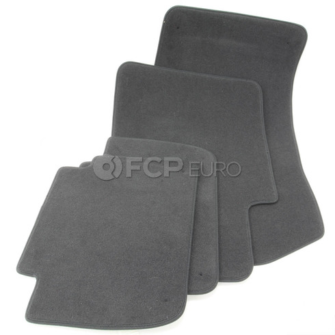 BMW Anthracite Floor Mat Set (E46) - Genuine BMW 51478201222