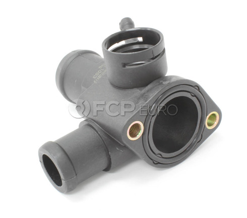 VW Engine Coolant Outlet Flange (Golf Passat Jetta) - Meyle 028121132A