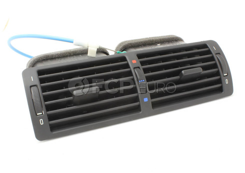 BMW Fresh Air Grille Center (Black) - Genuine BMW 64228364021