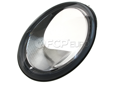 VW Halogen Headlight Lens Left (Beetle) - Genuine VW Audi 1C0941115B