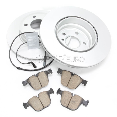 BMW Brake Kit Rear (E70 E71) - Meyle/Akebono 34216793246KTR