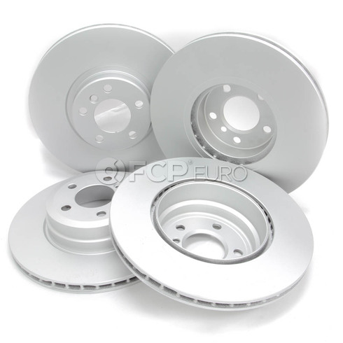 BMW Brake Kit - Meyle/Akebono 34116793244KTFR