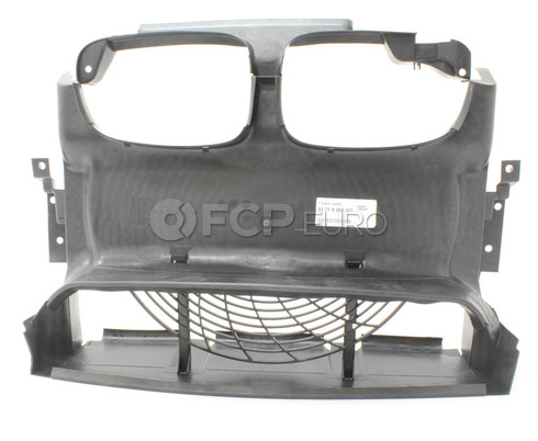 BMW Front Air Duct - Genuine BMW 51718268371