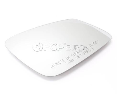 BMW Mirror Glass Heated Convex Right - Genuine BMW 51167251586