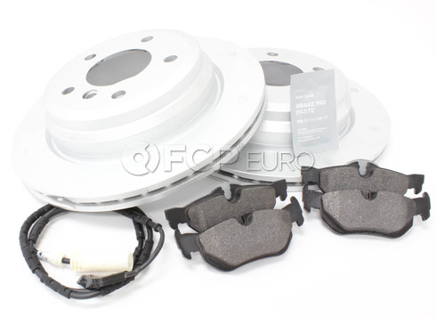 BMW Brake Kit Rear (E90 E91 E92 E93) - Genuine BMW 34216864901KTF