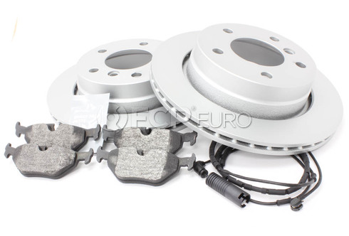 BMW Brake Kit Rear (E46) - Bosch QuietCast 34216855155KT1