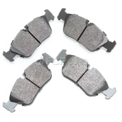 BMW HPS Brake Pad Set Front - Hawk HB136F.690