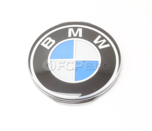 BMW Steering Wheel Emblem (E30 E31 E32) - Genuine BMW 32331117279