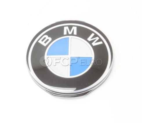 BMW Steering Wheel Emblem (E30 E31 E32) - Genuine BMW 32331117279