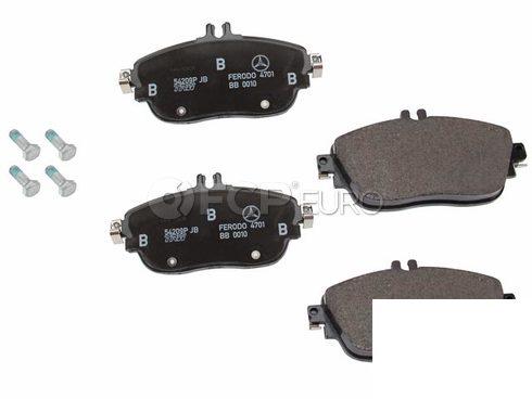 Mercedes Disc Brake Pad Front (CLA250) - Genuine Mercedes 0064204720
