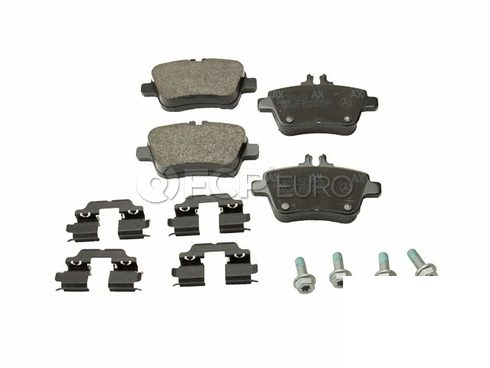 Mercedes Disc Brake Pad Rear (CLA250) - Genuine Mercedes 0064208120