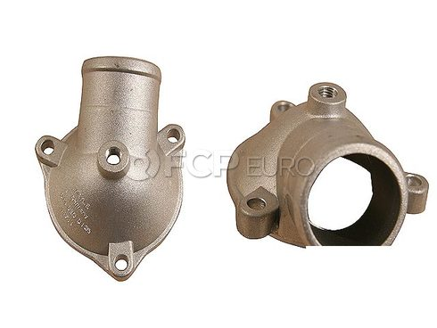 Mercedes Engine Coolant Thermostat Housing Cover (190E) - Meyle 1022030374