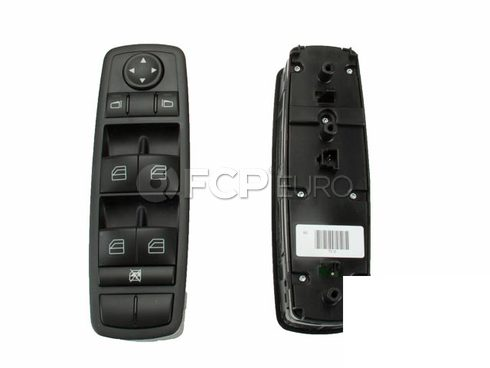 Mercedes Door Window Switch Panel - Genuine Mercedes 25183000909051