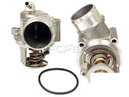 Mercedes Engine Coolant Thermostat Housing - Genuine Mercedes 1202000015