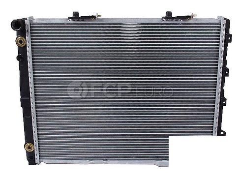 Mercedes Radiator (400E E420) - Genuine Mercedes 1245001402