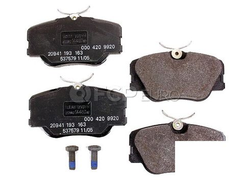 Mercedes Brake Pad Set - Genuine Mercedes 000420992041