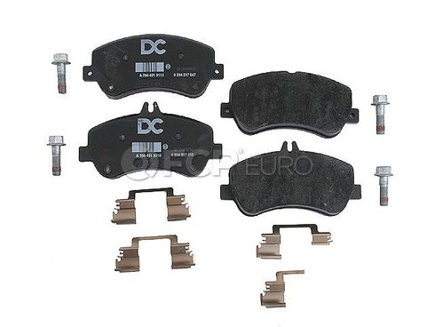 Mercedes Disc Brake Pad Front (GLK350 GLK250) - Genuine Mercedes 0074207420